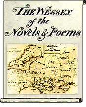 Thomas Hardy's map drawing of Wessex